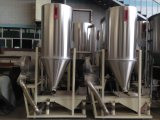 Máquina integrada del acero inoxidable con la vibración y el almacenaje