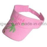 Tampão de Sun/viseira personalizados, chapéus de Sun