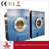 Secadores comerciais da queda do gás da lavanderia industrial de 30kg 50kg 70kg