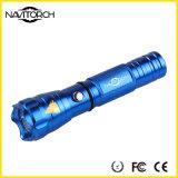 Lanterna elétrica recarregável resistente do diodo emissor de luz do CREE XP-E da água (NK-167)