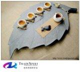판매를 위한 전통 중국어 대리석 차 세트 쟁반 테이블 예술품