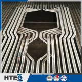 Painéis de parede padrão da água da membrana do aço de carbono de ASME ou do aço de liga nas caldeiras