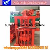 Máquina oca manual do bloco da tecnologia de Alemanha da manufatura de China
