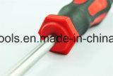 Ручка Bimaterial отвертки CRV Torx при покрынный кром