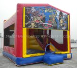 Kids, 미국에 Art Panels Inflatable Combo를 위한 동결된 Inflatable Moonwalk Bounce House