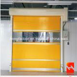 세륨 증명서 (HF-K05)를 가진 문이 고속 산업 실내 직물에 의하여 위로 구른다