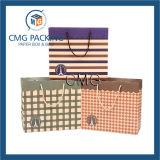 Bolsa de papel decorativa del regalo con el fabricante barato de la impresión de la red de la alta calidad (DM-GPBB-100)