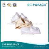 Peúga do filtro de pano do filtro da fibra de vidro da autorização da qualidade