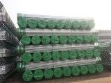 Od 48.3m m tubo galvanizado 1.5 pulgadas para el andamio