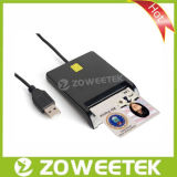 ID Card ATM (ZW-12026-1)를 위한 Zoweetek-Ccid USB Smart Card Reader 또는 Writer