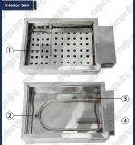 Trous simples de la rangée six de bac de bain d'eau de la température continuelle