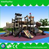 El patio al aire libre más nuevo de la nave de pirata del diseño de Kidsplayplay