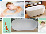 CE, vasca da bagno indipendente di disegno moderno di ellisse di Cupc