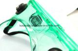 Gafas de seguridad de los anteojos de seguridad del marco del PVC de la lente del policarbonato