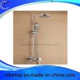 Testa di acquazzone d'ottone di pioggia della stanza da bagno sanitaria degli articoli