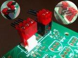 положение 4 красное IDC 2.54mm с эквивалентом AMP уха замка