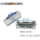 인쇄된 걸이를 가진 주문을 받아서 만들어진 디자인 Eyewear 색안경 유리 투명한 애완 동물 PVC 플라스틱 상자