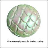 Couro do dom do croma do Chameleon/fornecedor Leatheroid do pigmento