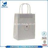 Modèle professionnel et blanc fiable de sac de papier