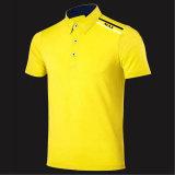 Constructeur fait sur commande de Chinois de T-shirt de golf d'hommes de logo