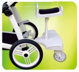 O carrinho de criança de bebê exclusivo do carro pode ser personalizado