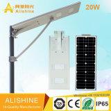5m 20W Licht der Straßen-LED mit Sonnenkollektor