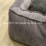 De binnen Bank van het Bed van het Huisdier van het Bed van de Hond Duurzame met het Verwijderbare Kussen van de Mat