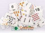 Papel de Educatioal Toys/3D de los cabritos que aprende la tarjeta del rompecabezas