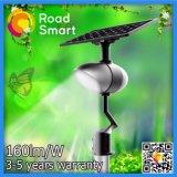 Iluminação de rua solar nova do jardim com altofalante de Bluetooth