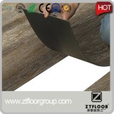 Suelo plástico de la hoja del bloqueo del tecleo del PVC del vinilo de la venta directa de la fábrica del suelo