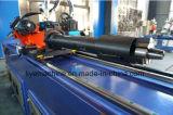 Dobladora del hierro de Dw38cncx2a-2s del CNC del tubo automático del metal