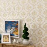 Folha de couro sintética do assoalho, papel de parede do PVC, PVC Wallcovering, decoração da parede, tela da parede do PVC, papel de parede do PVC