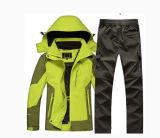 Куртка покрытия 3K/3K 100% Nylon Pd+Wr+Microporus вниз