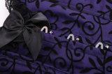 Form-reizvolles Spitze-Brokat-Korsett Bustier Shapewear der Frauen
