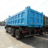 Vidage mémoire de HOWO 6X4/camion- avec la suspension de ressort