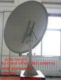 60 90 120 150cm Ku 악대 인공위성 오프셋 강철 철 섬유 격판덮개 텔레비젼 디지털 HD에 의하여 직류 전기를 통하는 비유적인 포물면 옥외 접시형 안테나