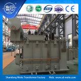 Estándar del IEC, 31500kVA---180000kVA, enrollamientos 220kV dos, transformador de potencia inmerso en aceite de la en-Carga