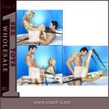 L'adulte joue le jouet sexy de sexe de cuir de vibrateur de produit (TSA1112)
