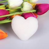 Éponge konjac de forme de coeur