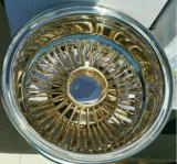 金ワイヤー車輪