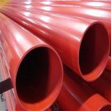 Pipe en acier peinte rouge d'UL/FM ASTM A795 Sch40