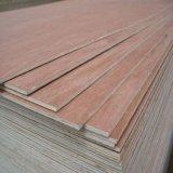 la base Okoume Bintangor del álamo de 12m m hizo frente a la madera contrachapada comercial
