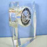 Bello orologio a cristallo per la decorazione Mn-5162 dello scrittorio