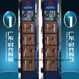 Puerta de aluminio del vidrio Tempered del nuevo diseño