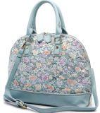 Borse floreali delle borse delle signore di modo le belle sei colori rivestono di pelle le borse