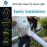 Bluesmart im Freien LED Garten-Straßenlaterne-Bewegungs-Detektor-Solarlampe mit Sonnenkollektor