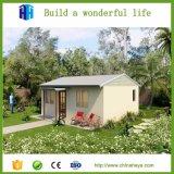 Casas modernas Prefab pequenas européias do baixo custo de qualidade superior