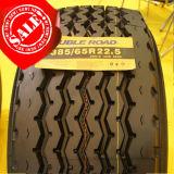 Neumático largo 385/65r22.5, neumático largo de marcha TBR, neumático de marcha del carro