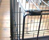 Caisse d'animal familier de crabot de fil avec 2 portes