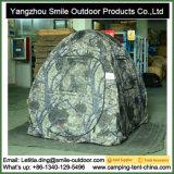 Hepagão dobrável Ez Twist Spring Steel Camo Hunting Blind Tent
